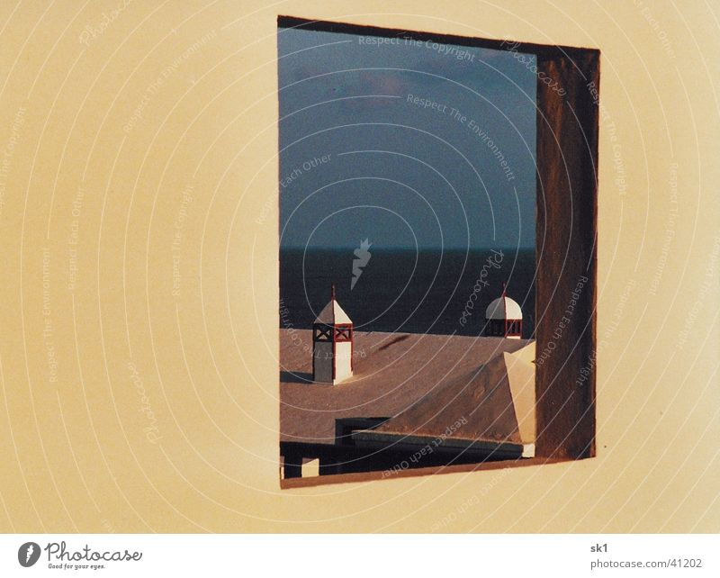 Window from 1001 night Tower Ocean Roof Lanzarote Vacation & Travel Fairy tale Architecture Sky 1001 nights