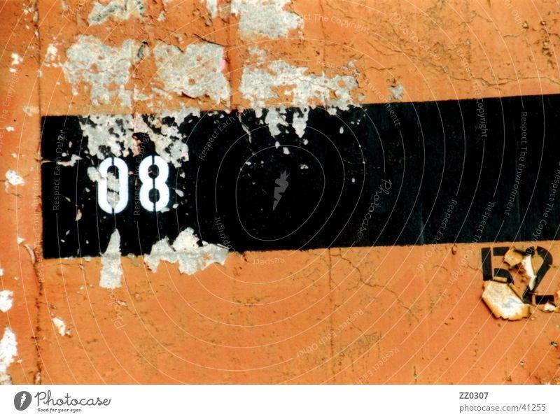 Black Colour Wall (building) Wall (barrier) Broken Things Terracotta
