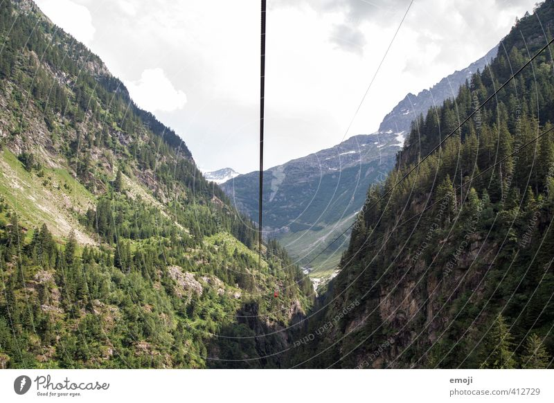 Nature Green Landscape Forest Environment Mountain Natural Tourism Switzerland Canyon Cable car