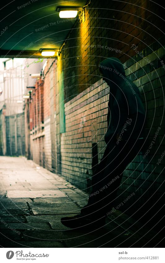 Alley Human being Child Youth (Young adults) City Loneliness Adults Young man Dark 18 - 30 years Sadness Moody Fear Masculine Wait 13 - 18 years Dangerous