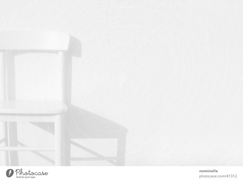 running White Wall (building) Calm Obscure Chair