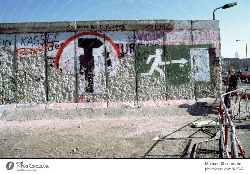 Berlin Wall (barrier) Historic GDR Reunification The Wall Potsdamer Platz
