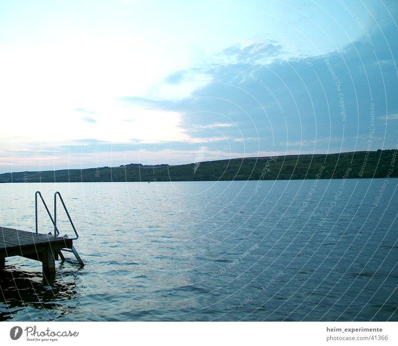 Nature Water Sky Ocean Beach Vacation & Travel Clouds Style Mountain Lake Landscape Coast Island Romance Bay Footbridge