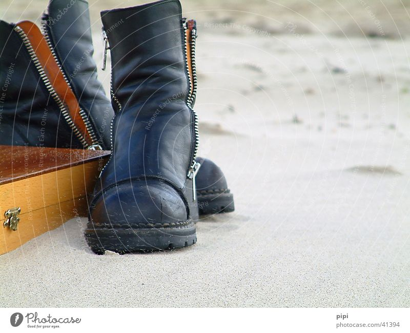 Stinky boots? Beach Clothing Vacation & Travel Still Life Leisure and hobbies Sand North Sea