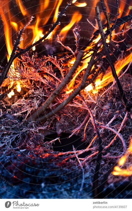 fiery ash Burn Fire fire bowl Fire department Flame peril Dangerous Embers Hot ardor blaze Easter fire incinerate sb./sth. incineration Insurance Garden plot