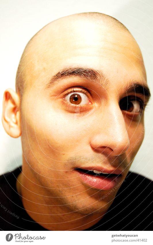 Man Dark Face Eyes Head Brown Bright Audience Prayer Southern Marvel