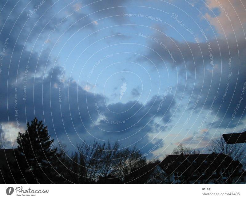 Sky Blue Clouds Wind Violet God Deities