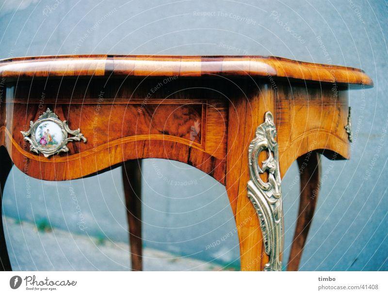 Wood Metal Table Craft (trade) Still Life Ancient Restoration