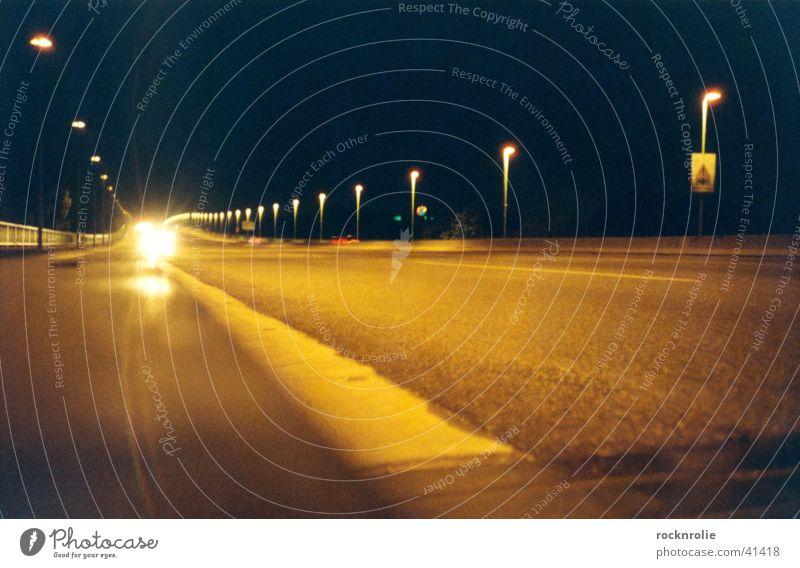 Black Loneliness Street Lamp Dark Car Line Bright Lighting Transport Driving Multiple Highway Lantern Radiation Many