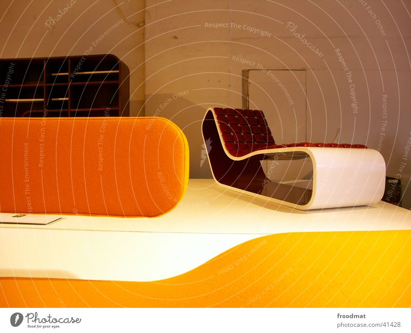 Style Design Modern Chair Seating Graphic Exhibition Shelves Curved Tasty Settee Spirited Designer furniture Design museum