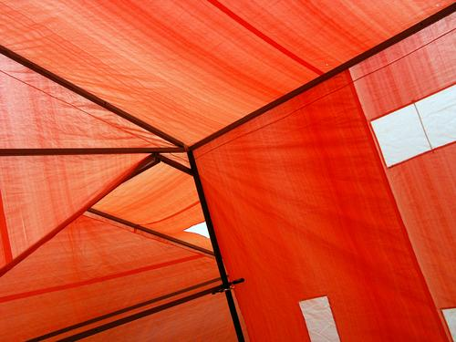 tent abstract Tent Abstract Chaos Cubism Triangle Geometry Graphic tent poles Tarpaulin Asymmetry Background picture Art exhibition Work of art
