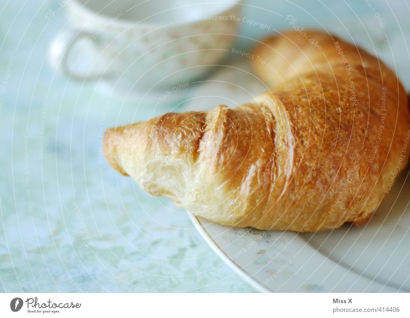 croissant Food Dough Baked goods Croissant Nutrition Breakfast To have a coffee Buffet Brunch Beverage Hot drink Coffee Crockery Plate Cup Delicious Sweet