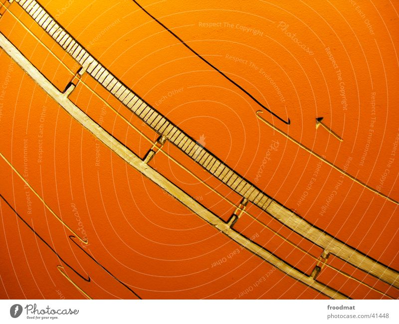 line management Art Geometry Near Spirited Style Diagonal Photographic technology Line Structures and shapes Detail House of World Cultures Arrow