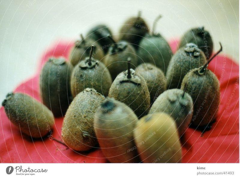 Kirsch-comm-Kiwis Kiwifruit Multiple Accumulation Healthy Rag Close-up Many