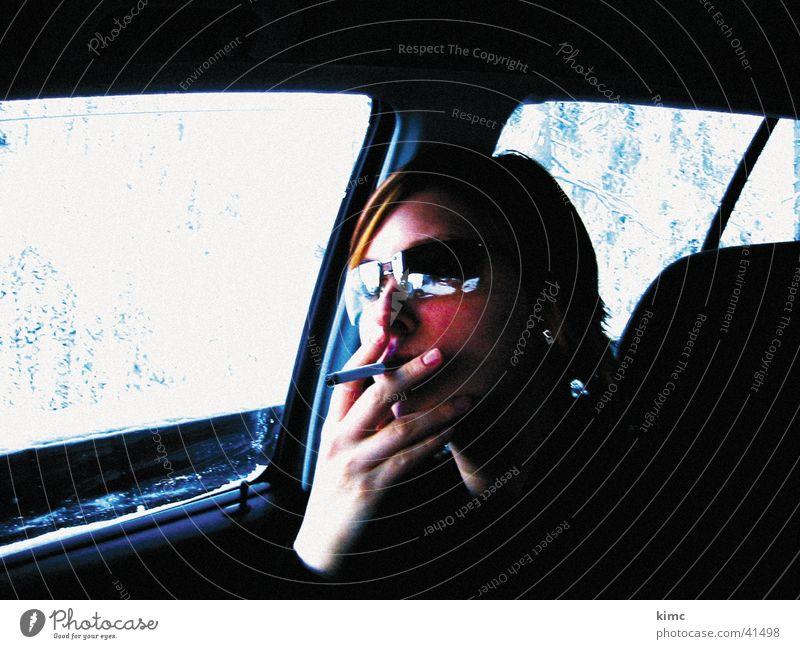 Woman Hand Face Vacation & Travel Snow Car Cool (slang) Cigarette Sunglasses Eyeglasses