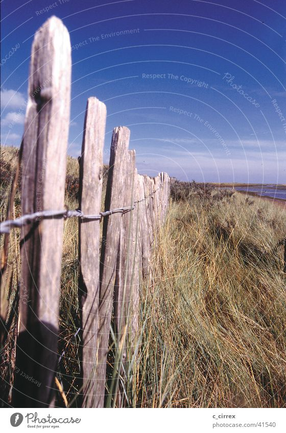 Far-off places Deep Fence England East coast Yorkshire