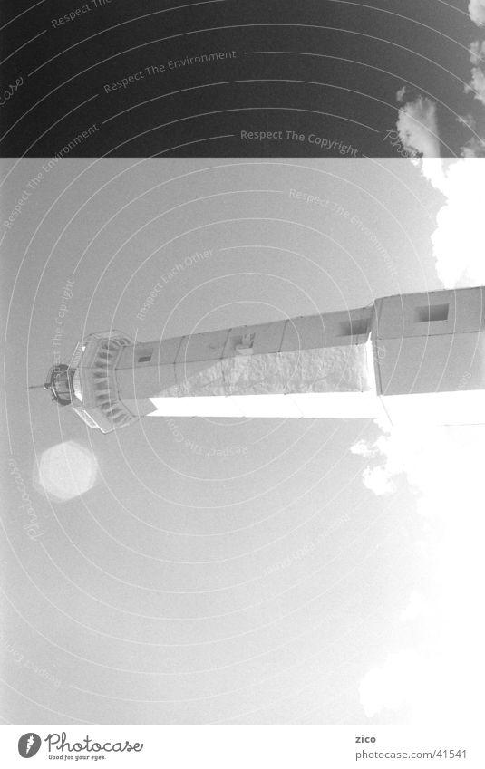 lighthouse Lighthouse Clouds Ocean Europe Sky