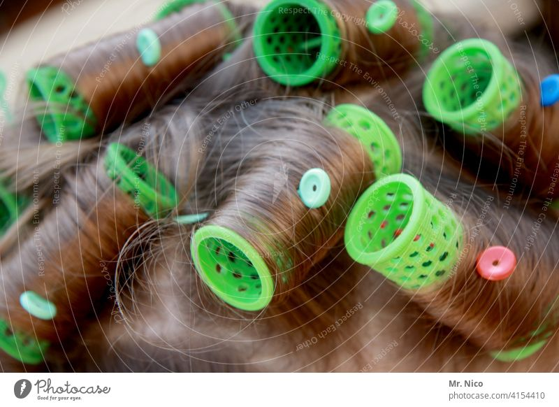 Hair curlers Curl Curly Hair and hairstyles Hairdresser Feminine Head Hairdressing Embellish Long-haired Accessory Barber shop Clean up curly-headed Hairy