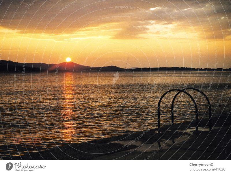 Nature Water Sky Sun Vacation & Travel Romance Dusk Croatia