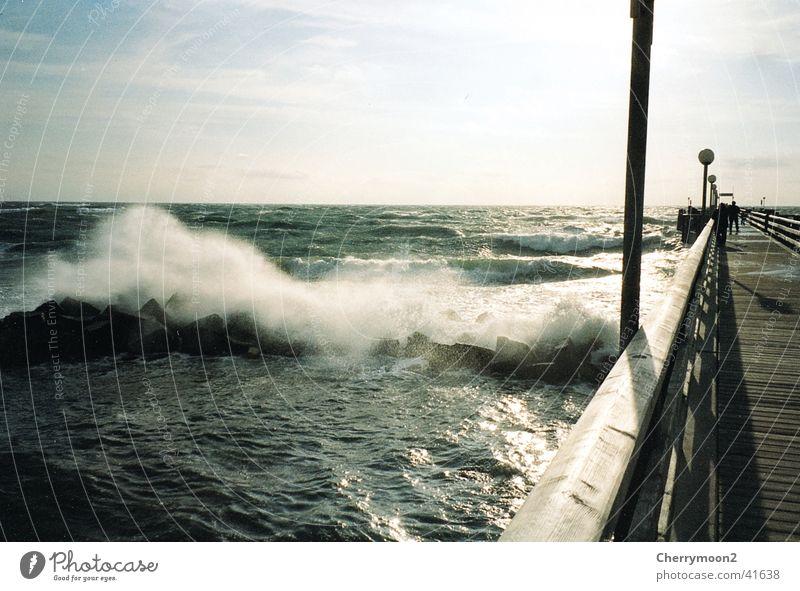Nature Water Vacation & Travel Wind Bridge Vantage point Passion Baltic Sea Foam