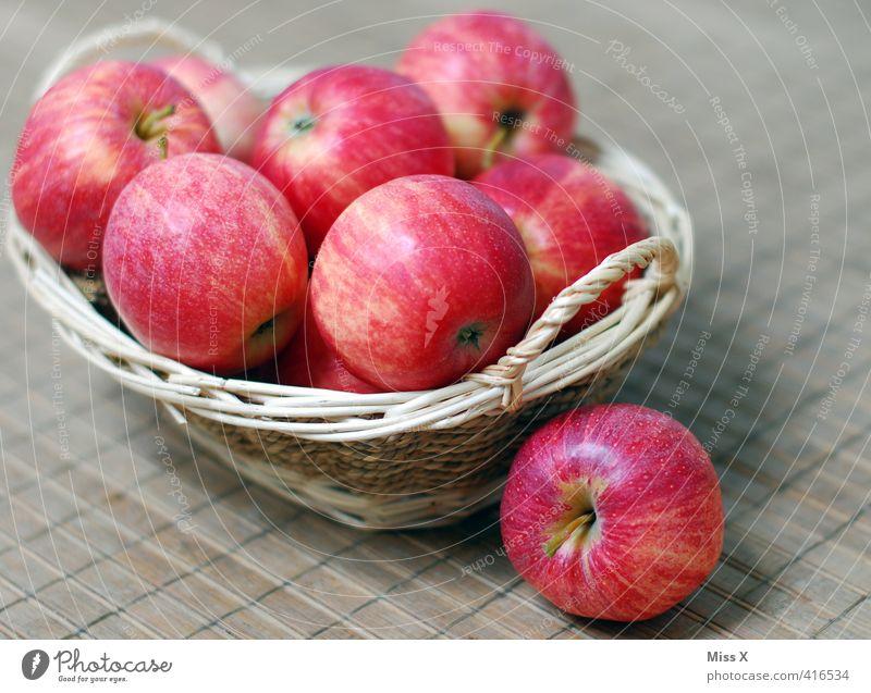 apple basket Food Fruit Apple Nutrition Organic produce Vegetarian diet Diet Fresh Healthy Delicious Sweet Fruit basket Meal Brunch Ingredients Colour photo