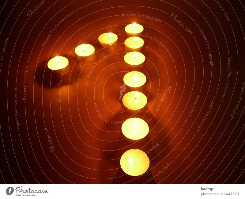 one Light Candle Digits and numbers Bright Leisure and hobbies Warmth Light (Natural Phenomenon)