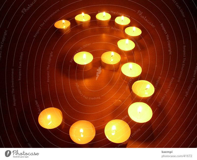 Three Light Candle Digits and numbers Bright Leisure and hobbies Warmth Light (Natural Phenomenon)