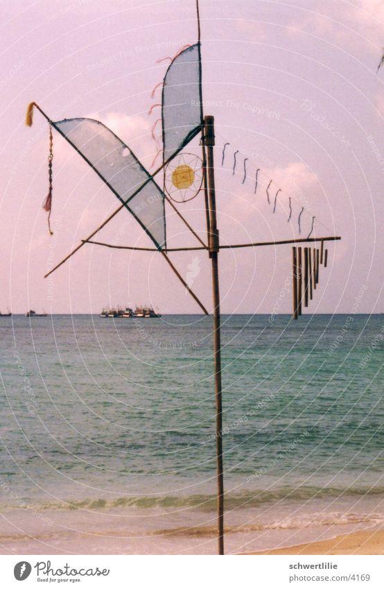 Wind Chimes Thailand Wind chime Beach Ocean