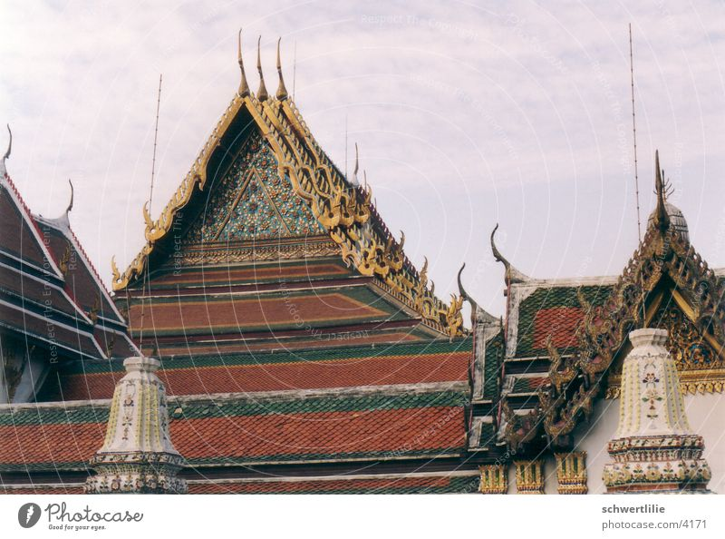 Roofs Thailand Temple