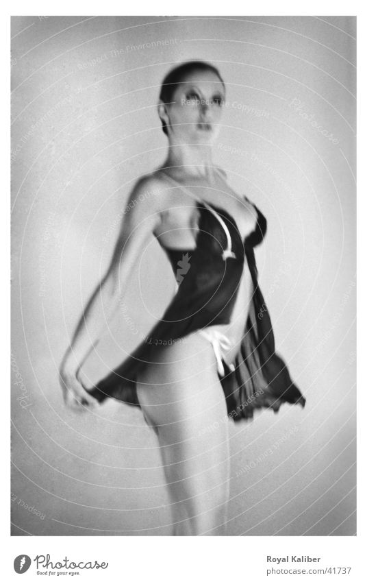 Photokinetta 01 Model Far-off places Beautiful Brunette Woman sharp unsharpness Eroticism