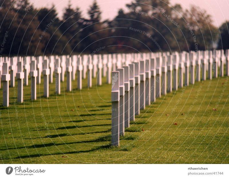 Sun Back Historic War Cemetery Grave Beaded