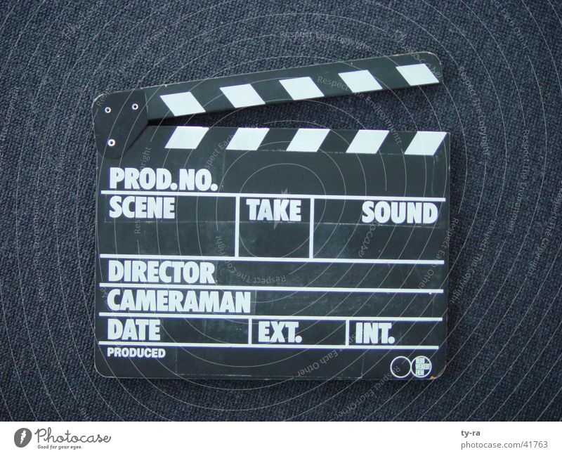Film industry Television Photography Things Media Direction Flap