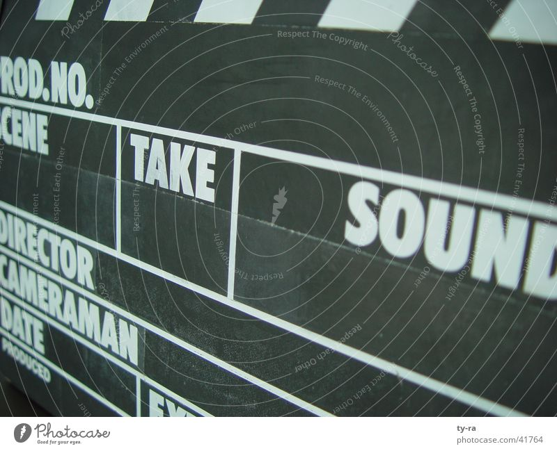 Film production Film industry Television Things Direction Media Flap Filming Clapperboard