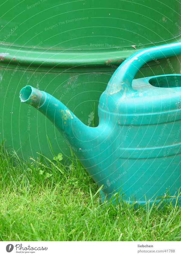 Water Green Garden Lawn Things Keg Watering can