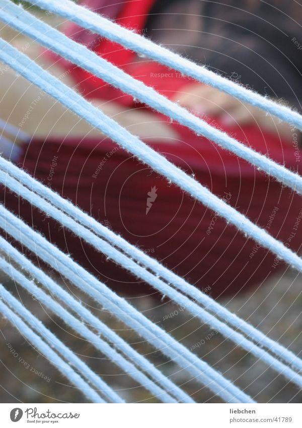 Line Rope Leisure and hobbies Diagonal Across Hammock