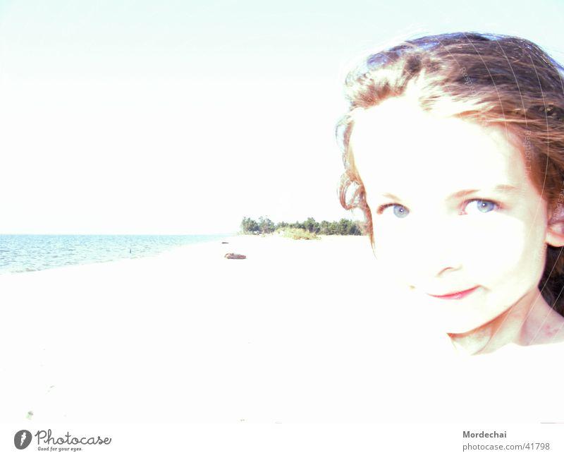 Child Water Girl Summer Beach Vacation & Travel Lake Bright Coast Russia Overexposure