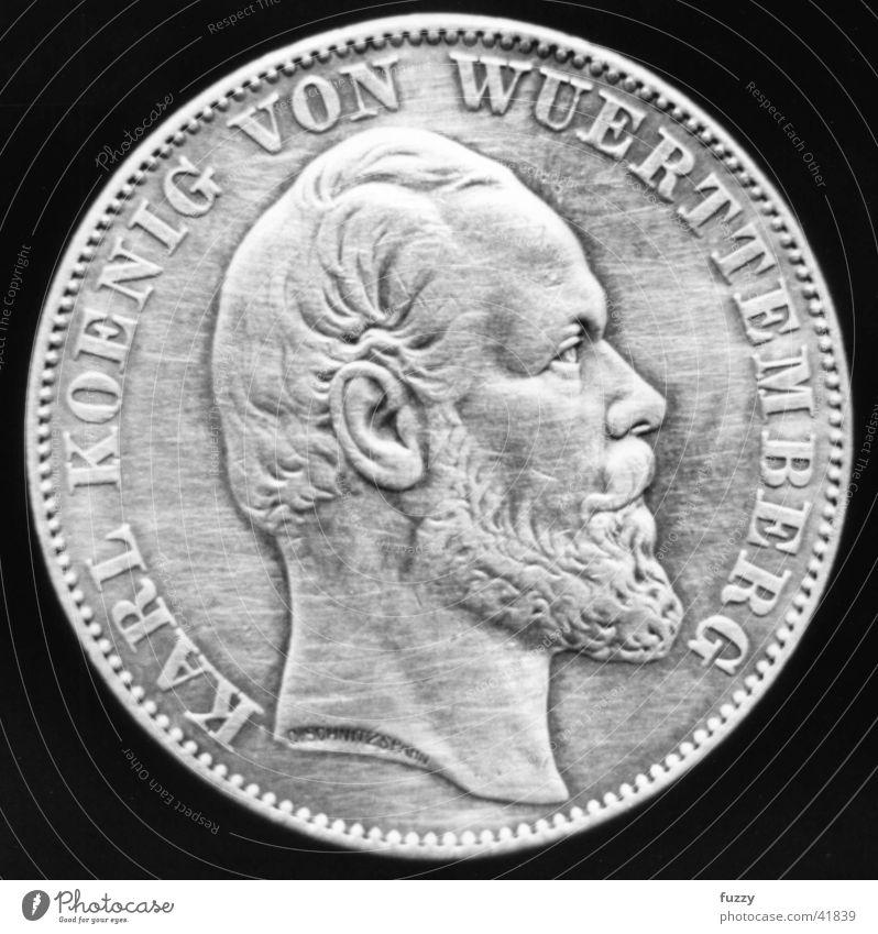 old iron Historic Coin Taler Macro