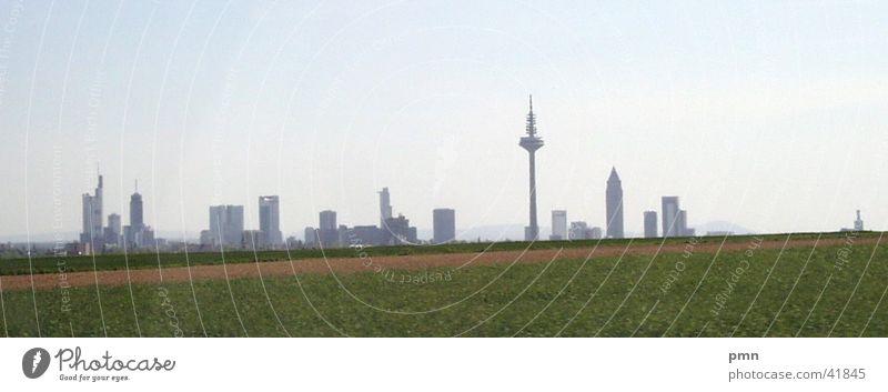 skyline Frankfurt Architecture Skyline