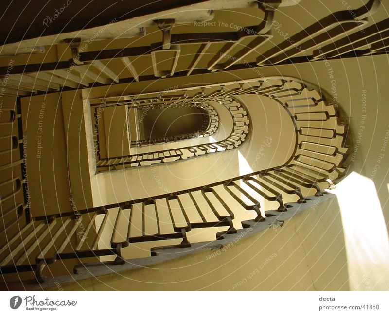 House (Residential Structure) Building Architecture Stairs Ladder Handrail Interior courtyard