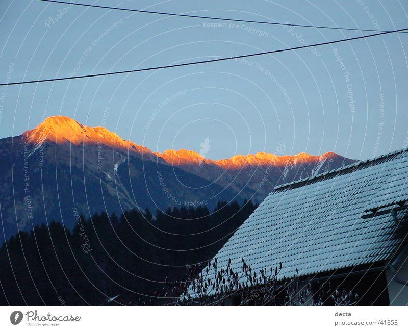 sunshine of the mountain Sun Mountain Nature Point