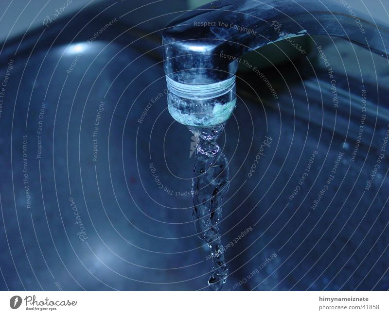 Water Blue Tap Photographic technology