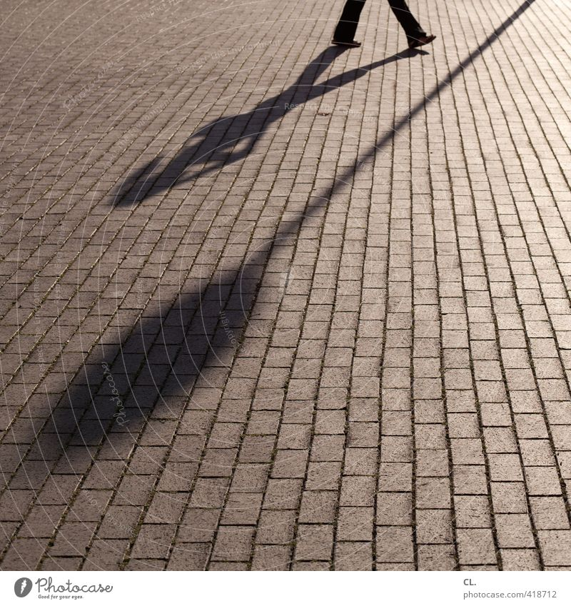shadow play Human being Feminine Woman Adults Legs 1 Transport Pedestrian Signage Warning sign Going Walking Uniqueness Perspective To call someone (telephone)
