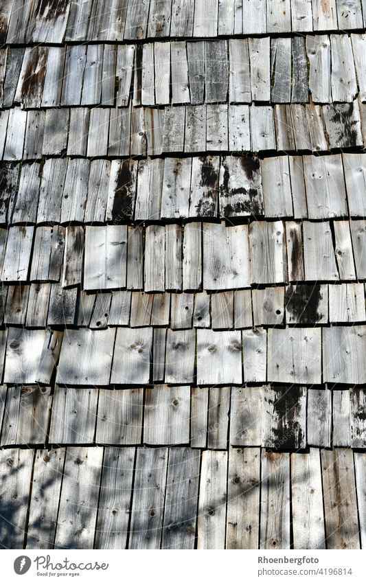 natural wooden roof with shingles in a celtic settlement Wood Roof roof truss boards hammer Nail Manmade structures House (Residential Structure) habitation