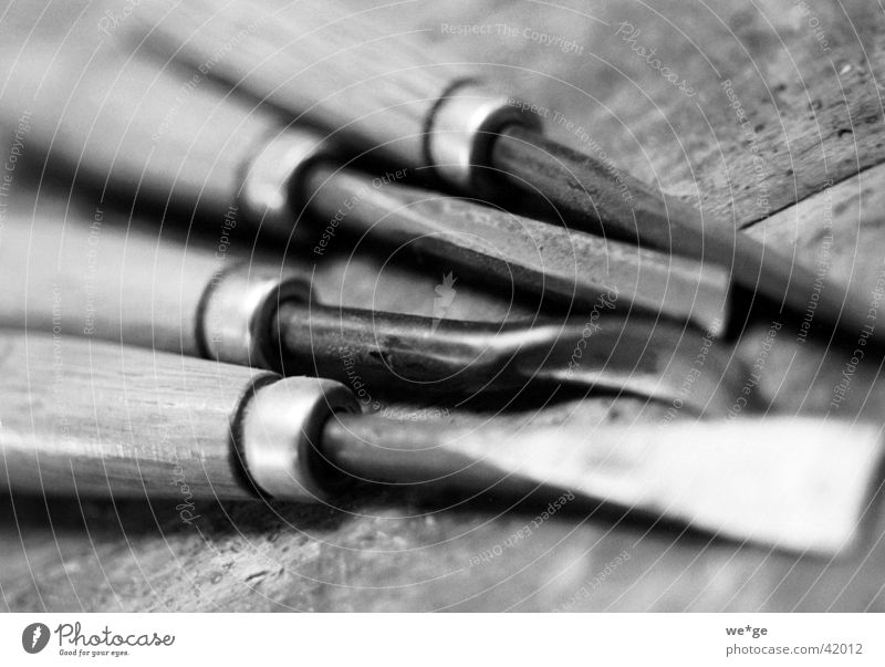 carving tool Tool Things Black & white photo