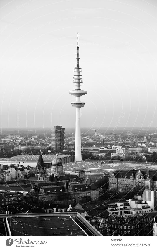 Television Tower Hamburg television tower Hamburg Exterior shot Television tower Hamburg TV tower Town Tourist Attraction Building Tall Architecture Landmark