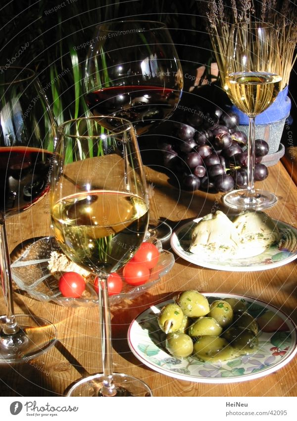 Nutrition Wine To enjoy Fruit Olive Appetizer Aperitif
