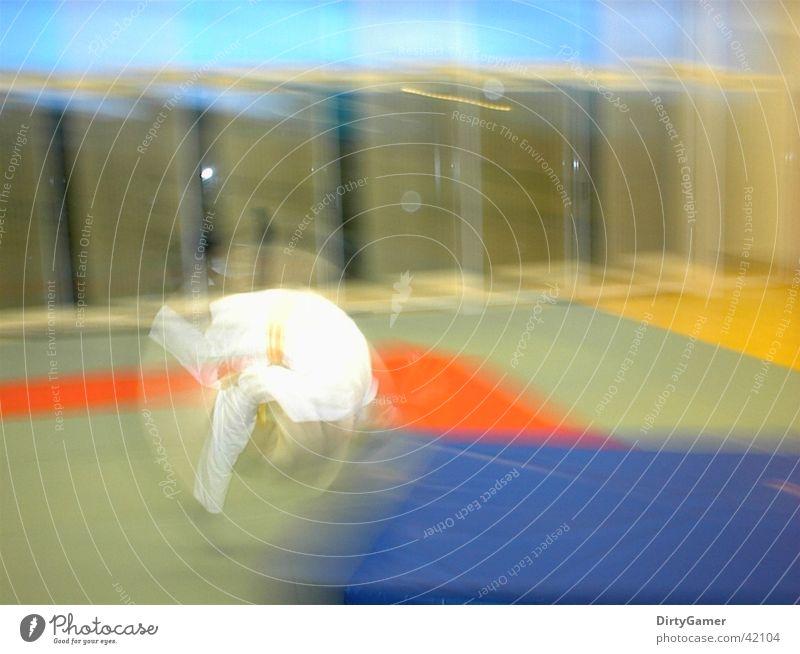 SlowMotion Judo Salto Sports Movement