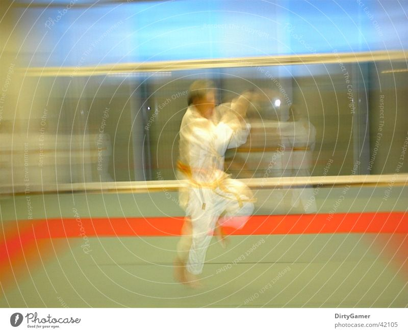 SlowMotion2 Judo Jump Sports Movement