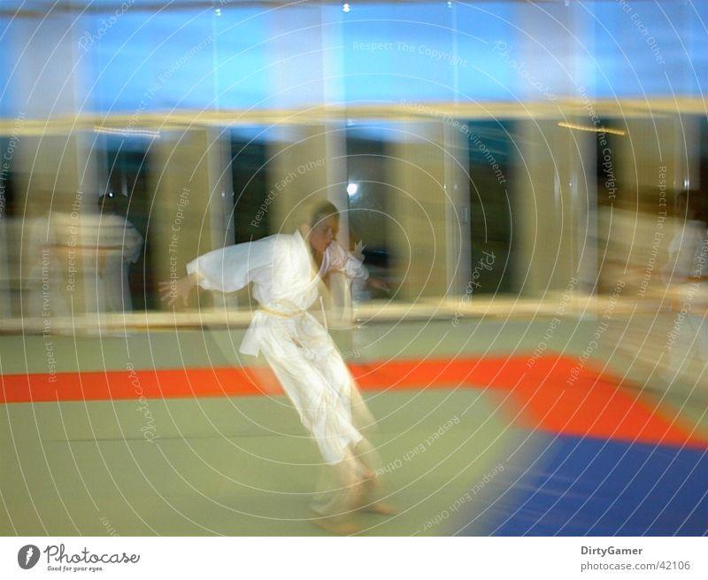 SlowMotion3 Judo Jump Sports Movement