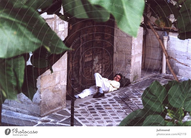 leaf dreams Human being Rues de Paris Summer 2000